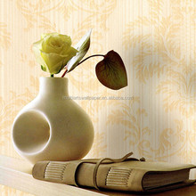 European Designer New Deep Embossed PVC Wallpaper