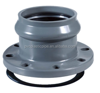 ISO 9001 UPVC Pipe Black Floor Flange,Square Flange with Good Price
