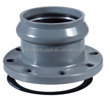 ISO 9001 UPVC Pipe Black Floor Flange,Square Flange with Good Price