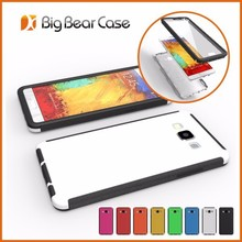 Full protective dual layer screen protector cell phone cover for galaxy a7