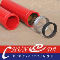 DN125 ST52 Concrete Pump Pipe Spare Parts for P.M