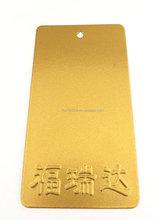 metallic gold spray powder coating paint