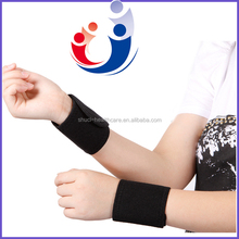 Elastic magnetic tourmaline self-heating wrist support ,high quality wrist wraps(ZFR-03P)