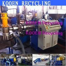 Large capacity PE PP recycled plastic pelletizer