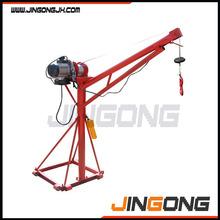 Small portable 500kg lightweight lift crane
