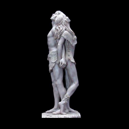 Personalizzato resina giovane coppia statua modello, amore paio statua