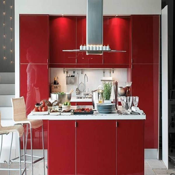 Best quality glossy kitchen cabinet buy kitchen cabinet for Quality kitchen cabinets