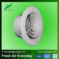 round diffuser plastic fan grill