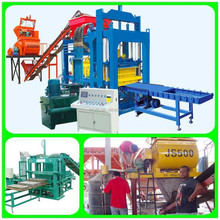 Low investment paving block making machine