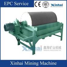 Xinhai Wet type Magnetic Separator for Iron Ore , Gold Separating With Low Price