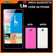 5 inch mobile phone MTK6582 quad core dual sim 4g gps mobile phone