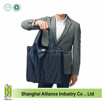 Wholesale promotion foldable polyester recycle bag