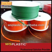 extrusion green orange round belt polyurethane at competitive price