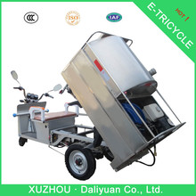 motorized 3 wheel bicycle 3 wheel car for garbage transport