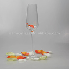 Hand made crystal drinking glass ware