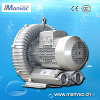 china factory wholesale7.5kw 220-380v high pressure centifugal air blower for collect waste paper after hole punch processing