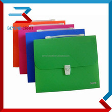PP poly plastic document carry case file box