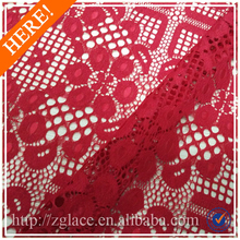 Bela vermelho feito sob encomenda cortinas de tecido de renda