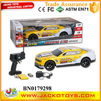 Wholesale remote control car 1:10 5CH rc drifting car with charger