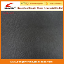 Abrasion-Resistant PVC/PU/TPU black Shoe synthetic Leather for Making Shoe