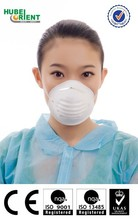 Disposable anti mers N95 dust face mask with headband