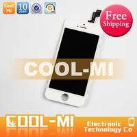 FREE SHIPPPING SALE assembly front glass touch screen lcd digitizer for iphone 4s , screen for iphone 4s