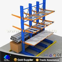Industrial sheet metal storage pipe rack