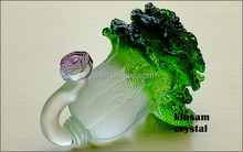 decoration glass crafts, Chinese cabbage