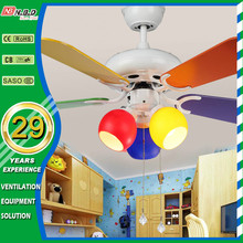 42 inch children decorative lighting ceiling fan pull switch