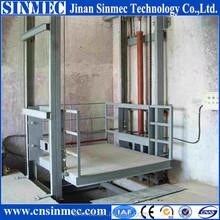 SINMEC top quality wall mounted lead rail lift