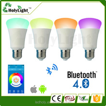 Led Bluetooth Speaker With Epistar LED Light Bulb Can Reach 320 Meters Long