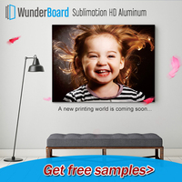 High Definition Sublimation Photo Printing on Aluminum Sheets