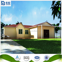 low cost prefab cabin durable pre fabricated house modular hosue
