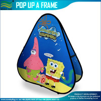 Triangle Pop Up A Frame Tradeshow Banner
