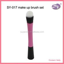high quality make up brushes rose pink make up brush set