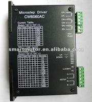 CW6060AC Stepping motor driver, current 2A-6A, AC voltage input 24Vac~55Vac