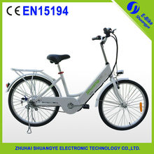 """New design 24"""" electric cheap bicycle with inside battery"""