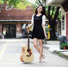 2014 de alta calidad y bajo precio de amari am-418c image, china guitarra acústica