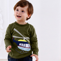 NEW Kids Boys T shirt Minion Clothes Autumn Winter Children T shirts Kids Clothes Fish Designer Baby Boys T-Shirt Long Sleeve