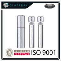 KIRA CNC 20ml Aluminium Alloy Twist up Refillable Perfume Packaging