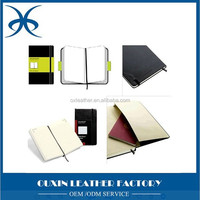 Ouxin FactoryEmbossed soft cover notebook/leather agenda book/personal diary printing
