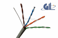 Flexible aluminium transmission cable cat5e