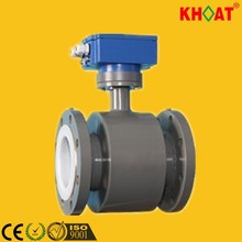KHLDG Electromagnetic Flow Meter with square shape indicator