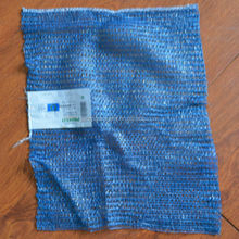 Accept custom order plastic blue mesh bag packing fruit 25/50kg