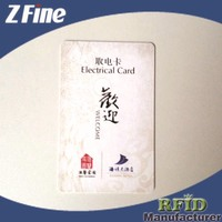 Plastic authenticity certificate polycarbonate id card