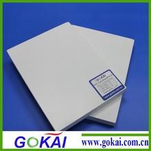 White glossy Low price pvc foamed board
