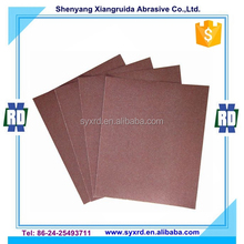 9 in.x11 in. Emery Cloth Sand Paper for Glass and Metal Working