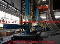 Welding Column & Boom Manipulator with Travelling Rail Track Supplier