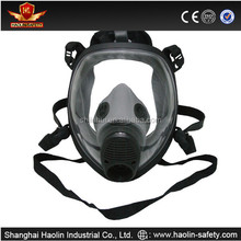 Anti gas nature silicone air pollution filter mask CE certified