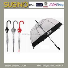 Popular Susino Auto Open Transparent Umbrella
